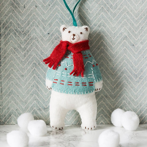 Polar Bear felt craft kit