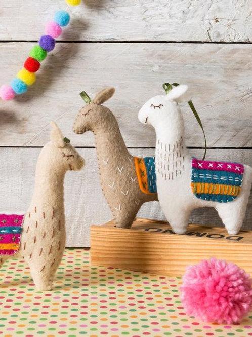 Lamas felt kit