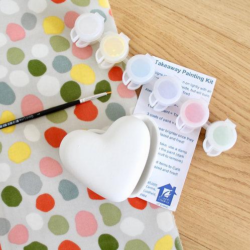 Heart Box Painting Kit