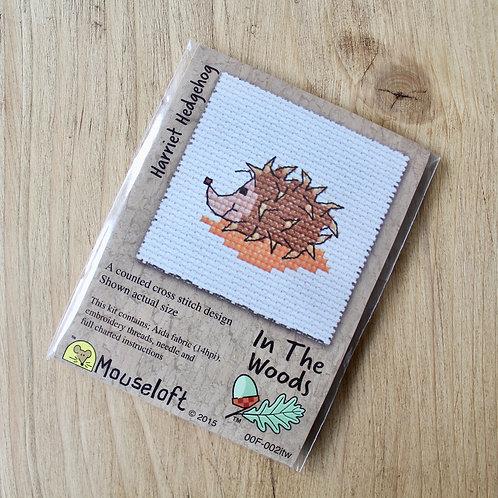 Harriet Hedgehog - Stitchlet Cross Stitch