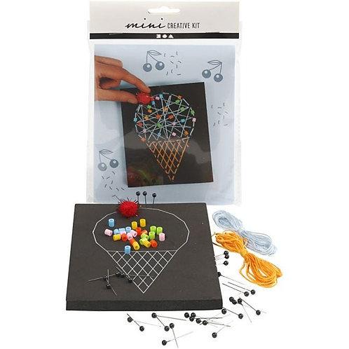 String Art Ice-cream Kit