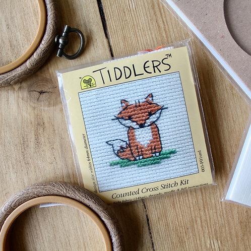 Fox - Tiddlers Cross Stitch