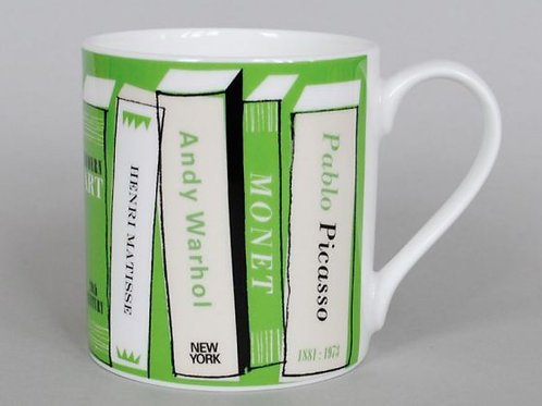 Art Books Green Mug + Gift box