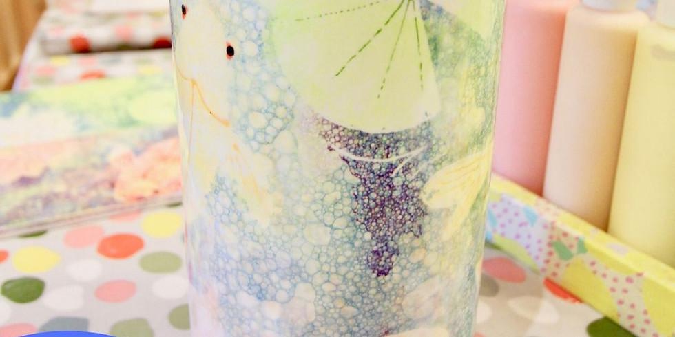 Bubble vase workshop 6.45 - 8.45