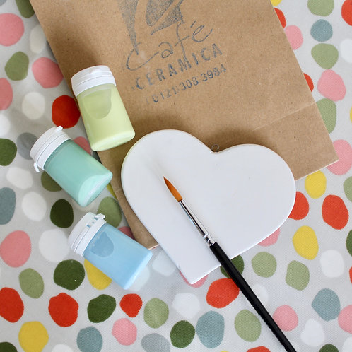Heart Painting Kit