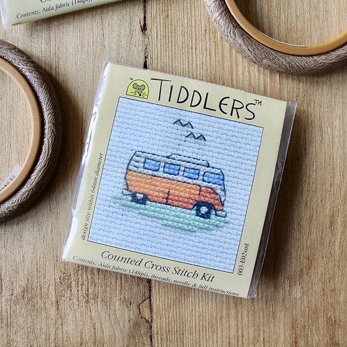 Camper van - Tiddlers Cross Stitch