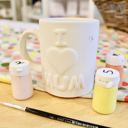 MUM Mug Painting Kit
