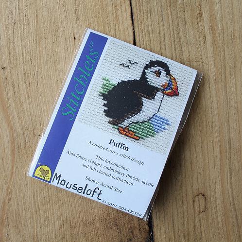 Puffin - Stitchlet Cross Stitch