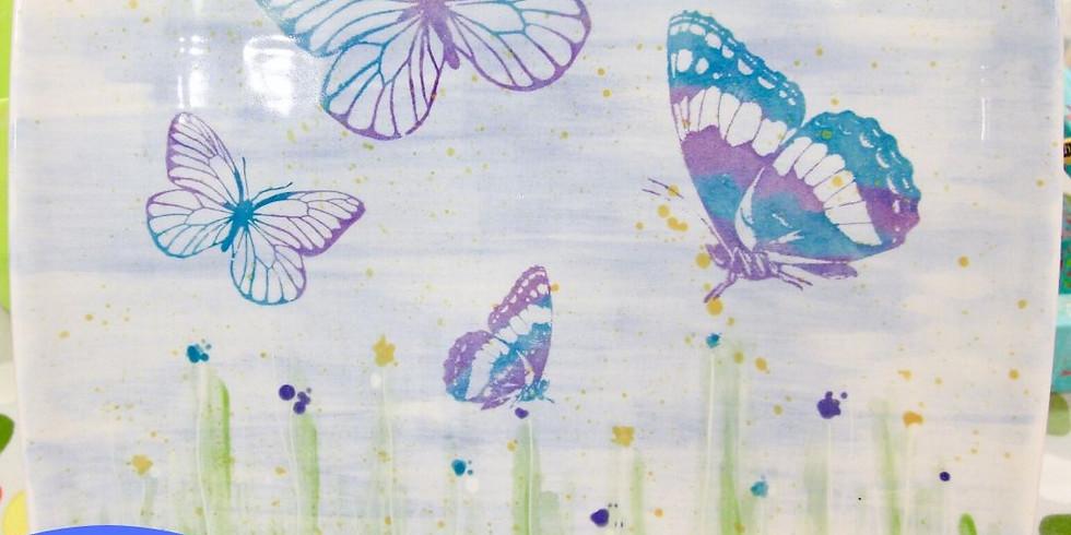 Screen printing on ceramics 12.45- 2.45