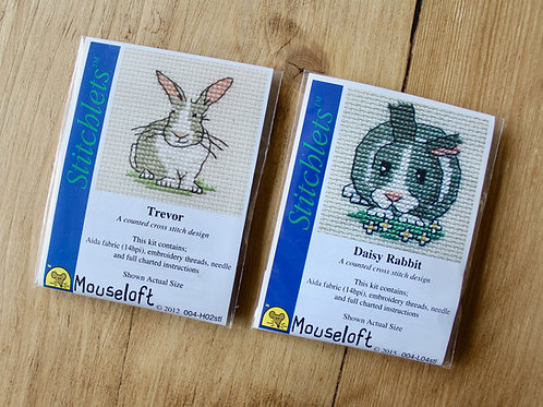 Rabbits - Stitchlet Cross Stitch