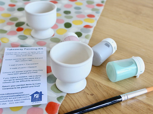 Egg Cup Painting Kit