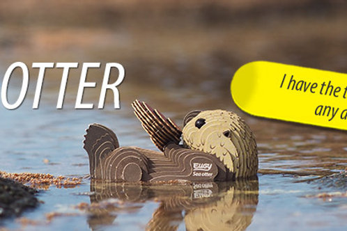 Eugy Model Kit Sea Otter