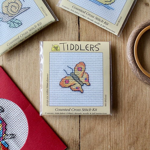 Butterfly- Tiddlers Cross Stitch