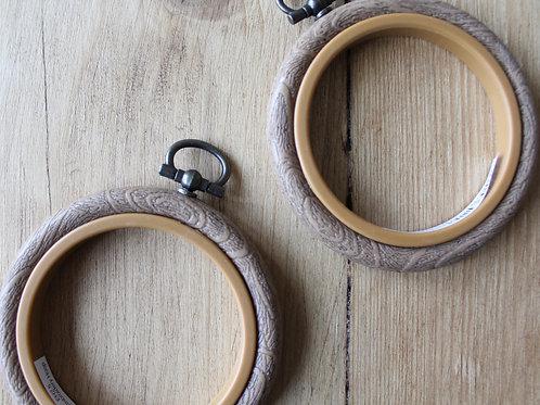 Cross stitch hoop