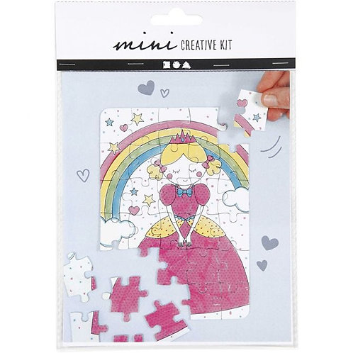 Princess Colouring Jigsaw