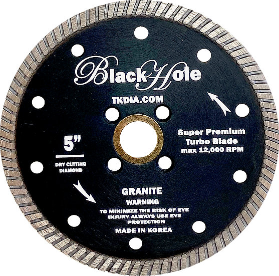 "5"" Super Premium Granite Turbo Blade - Flush Mount"