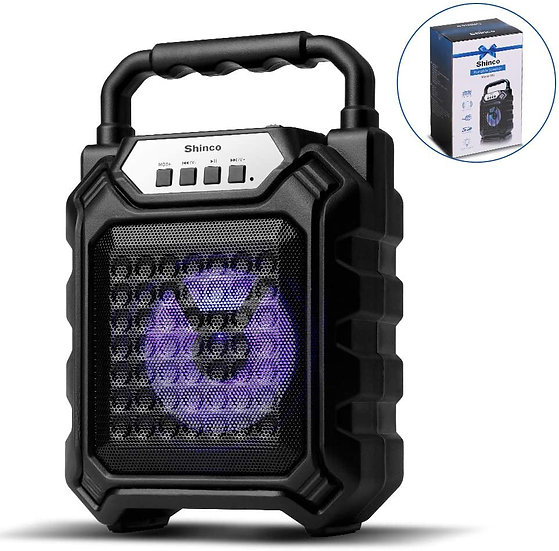 Portable Bluetooth Speaker with Color LED
