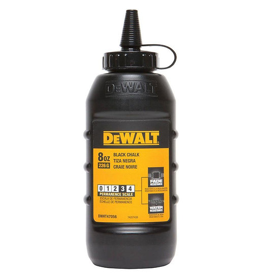 Dewalt Chalk 8 oz - Black