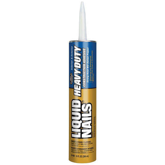Liquid Nail Heavy Duty Caulk 10 oz