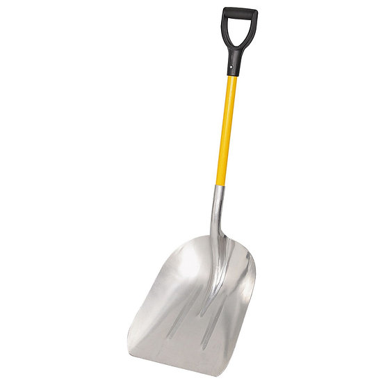 Heavy Duty Shovel Aluminum Scoop Fiberglass