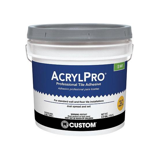 Acrylpro Tile Adhesive - Mastic - 3.5 Gal