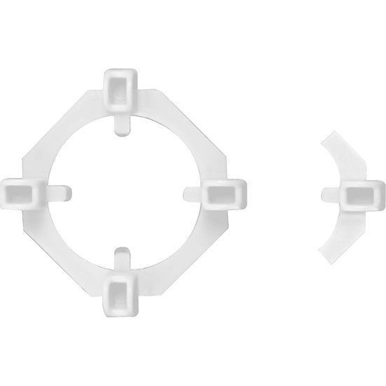 """ClearView 2-in-1 Tile Spacers, 1/16"""" and 3/16"""" (100 spacers and 50 spacer wings)"""