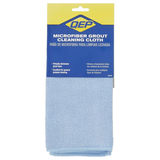"Microfiber Grout Cleaning Cloth, 18"" x 18"""