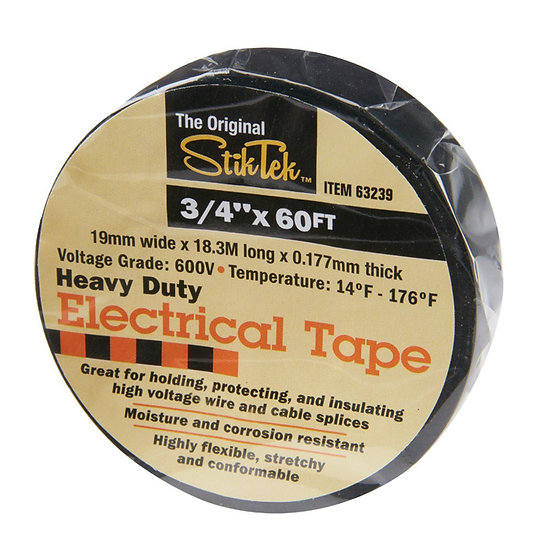 "3/4"" x 60 Electrical Tape"