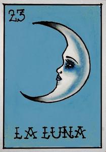 """23 La luna (""""the moon"""")"""