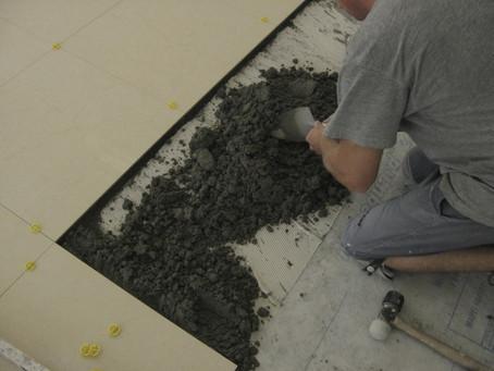 Mud set v.s. Thin Set Method