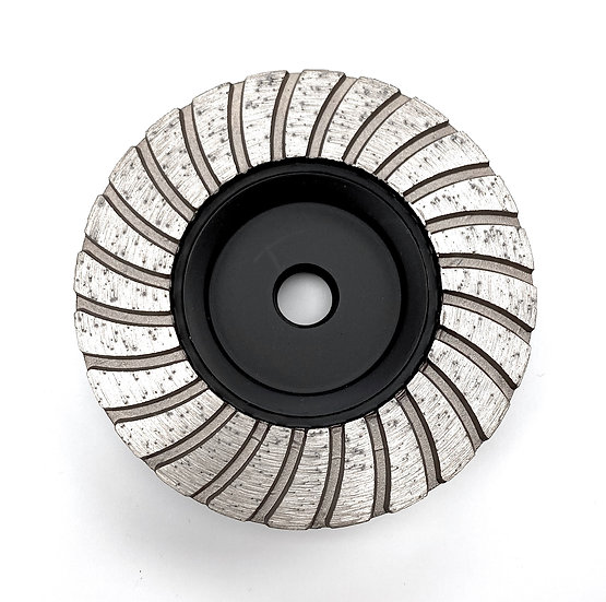 "4"" Metal Turbo Cup Wheel - Coarse"