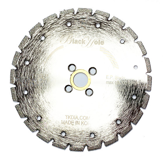 "6"" Electroplated Diamond Marble Blade - Flush Mount"