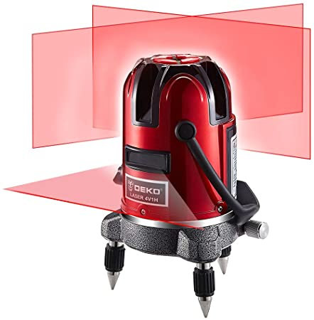 DEKOPRO 360º Automatic Self-leveling 6 Points Laser