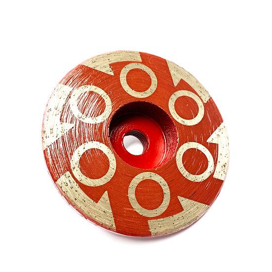 "4"" Resin Cup Wheel - Coarse"