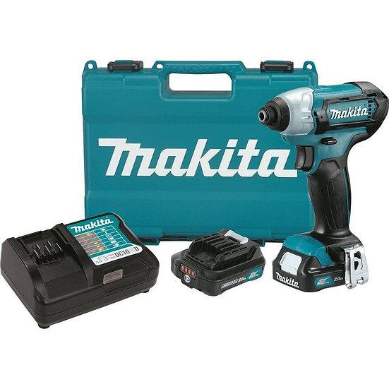 Makita 12V Lithium Ion CXT Impact Driver Kit