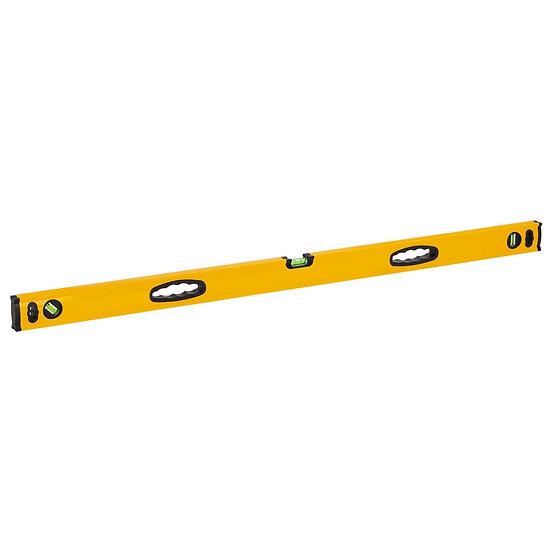 4 Ft Aluminum Box Level - Yellow