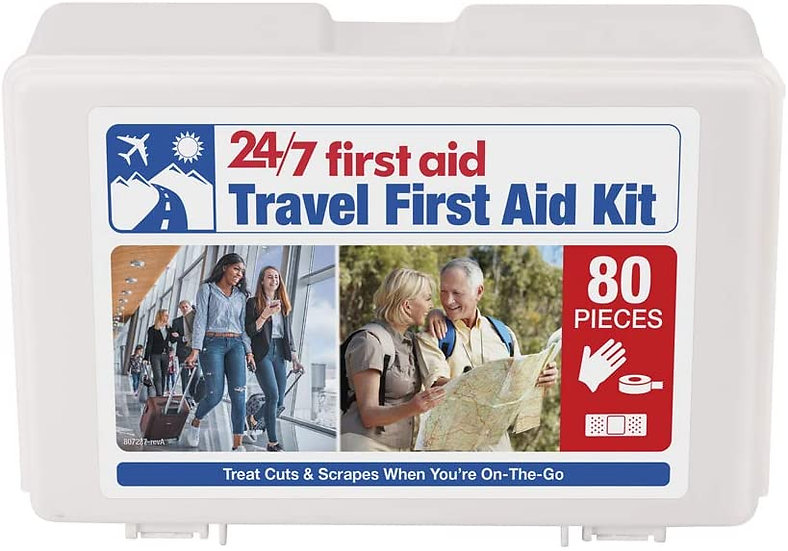 First Aid Kit - 80 Piece