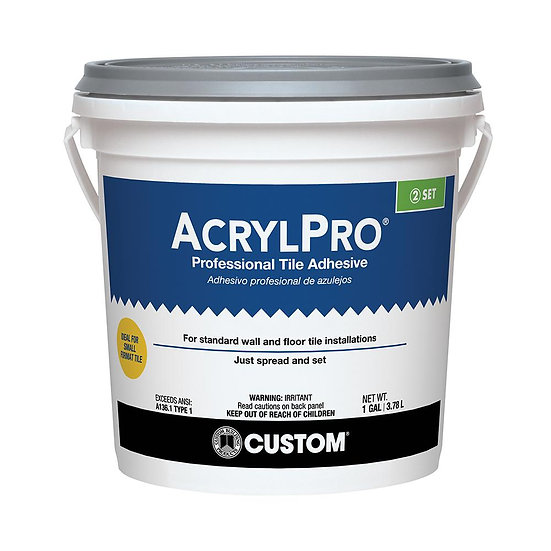 Acrylpro Tile Adhesive - Mastic - 1 Gal
