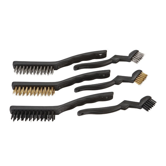 Wire Brush Set Detail 6 Pack