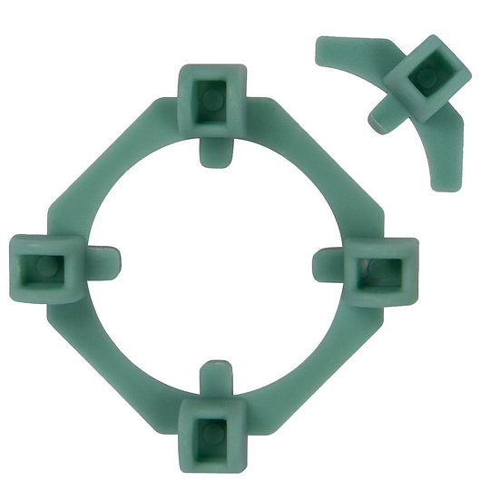 "ClearView 2-in-1 Tile Spacers, 1/8"" and 1/4"" (100 spacers and 50 spacer wings)"