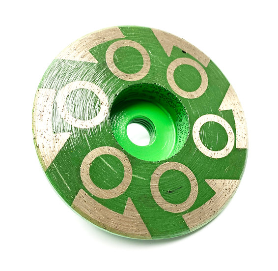 "4"" Resin Cup Wheel - Medium"