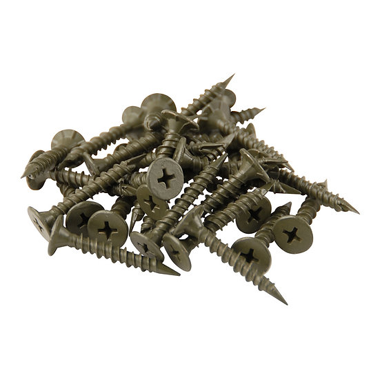 """1 1/4"""" Cement Board Screws #8 - 200 Count"""