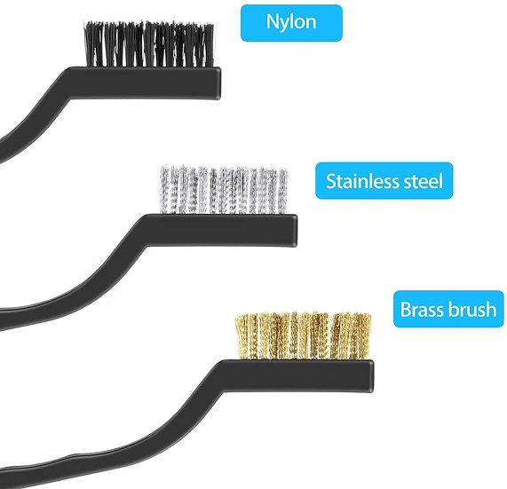 Scratch Wire Brush (Brass, Steel or Nylon)