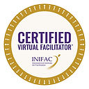 INIFAC Certified Virtual Facilitator tm.