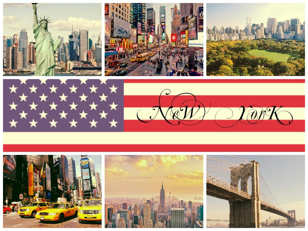 Обои state new york, небоскребы, утро, америка. Города