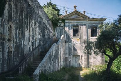 Abandoned Fishing house of Marquês de Pombal