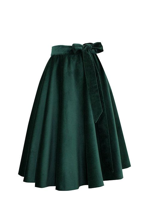PonRoe green velvet