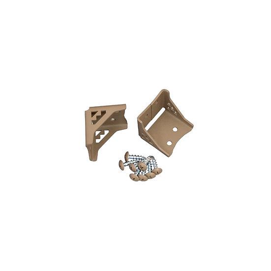 ネイティブ三角ブラケット Sサイズ(XBP-660)/ 2×4Mate DIY収納パーツ