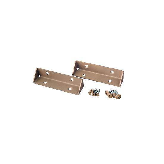 三角インセットブラケット Sサイズ(XBP-341)/ 2×4Mate DIY収納パーツ