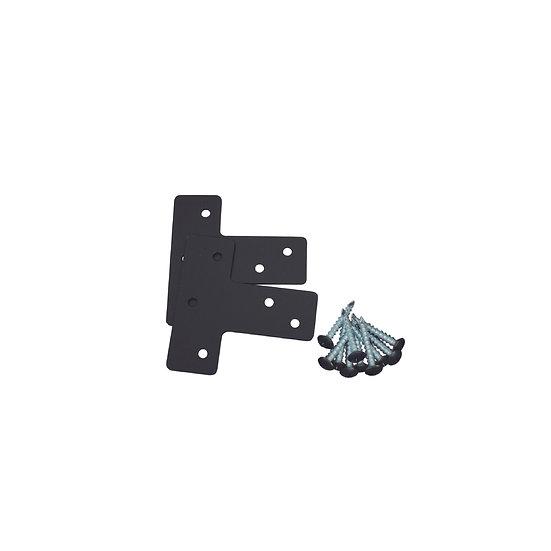 T 字ブラケット(XBP-353)/ 2×4Mate DIY収納パーツ